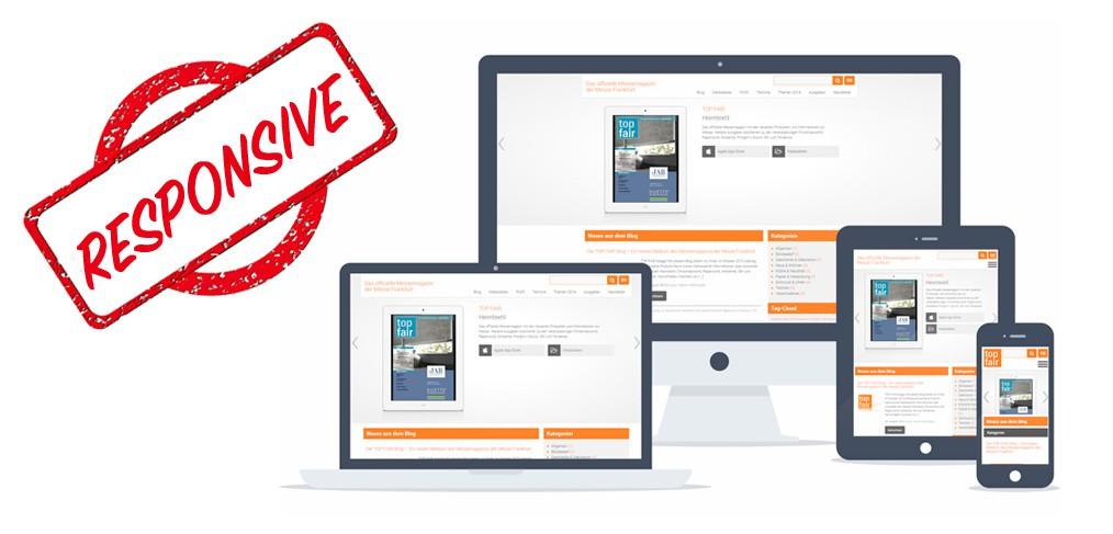 Diseño responsive webs y tiendas online